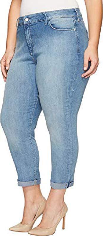 d483d4a5da32 NYDJ - Blue Plus Size Alina Skinny Convertible Ankle Jeans - Lyst. View  fullscreen