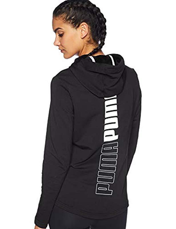 PUMA Modern Sport Full Zip Logo Hoodie