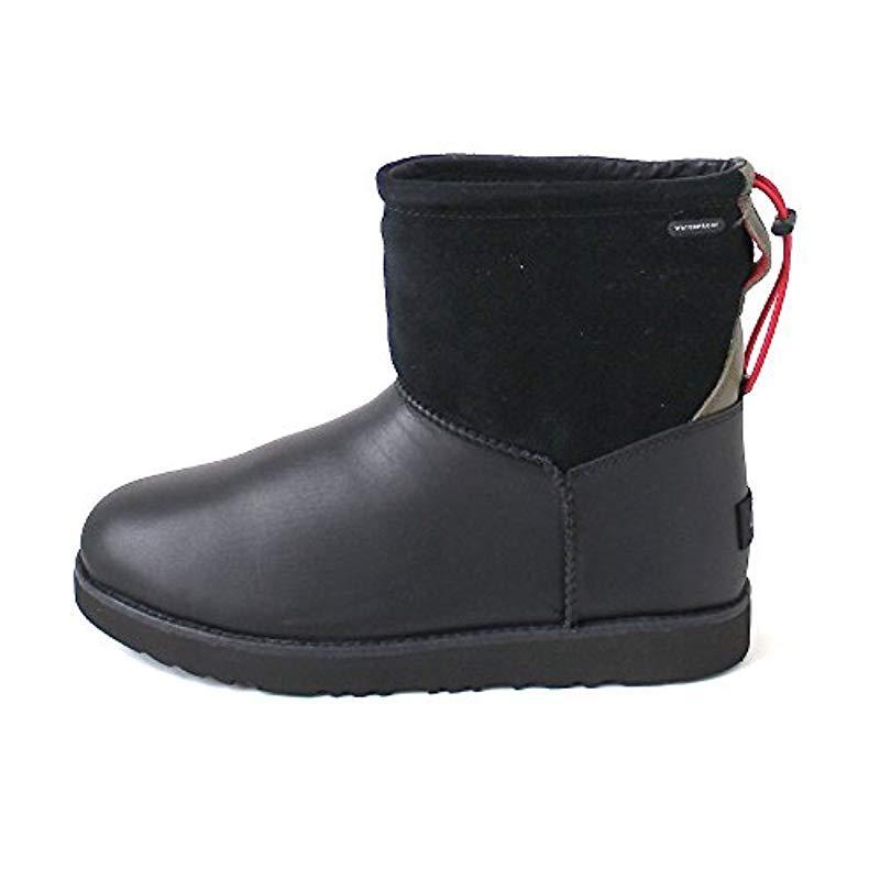 0749dab8d Ugg - Black Classic Toggle Waterproof Winter Boot for Men - Lyst. View  fullscreen
