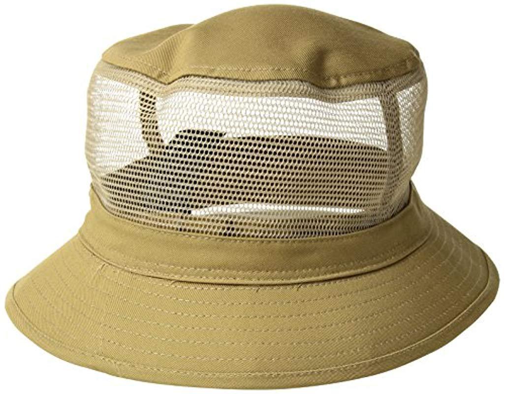 88e7068c95c Lyst - Brixton Hardy Short Brim Mesh Bucket Hat for Men - Save 37.5%