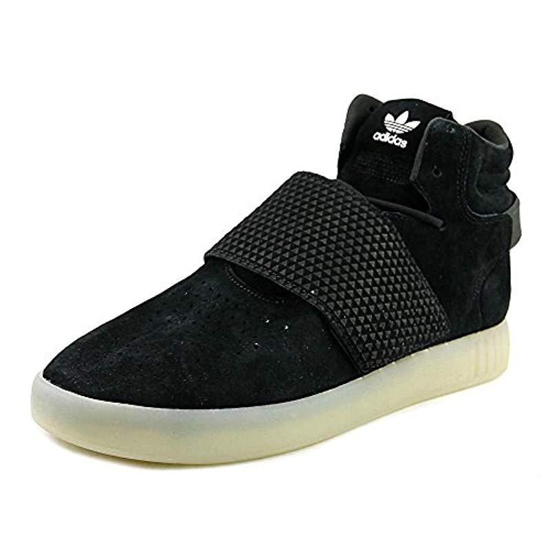 Lyst - Adidas Originals Tubular Invader Strap Shoes in Black 6c734729c