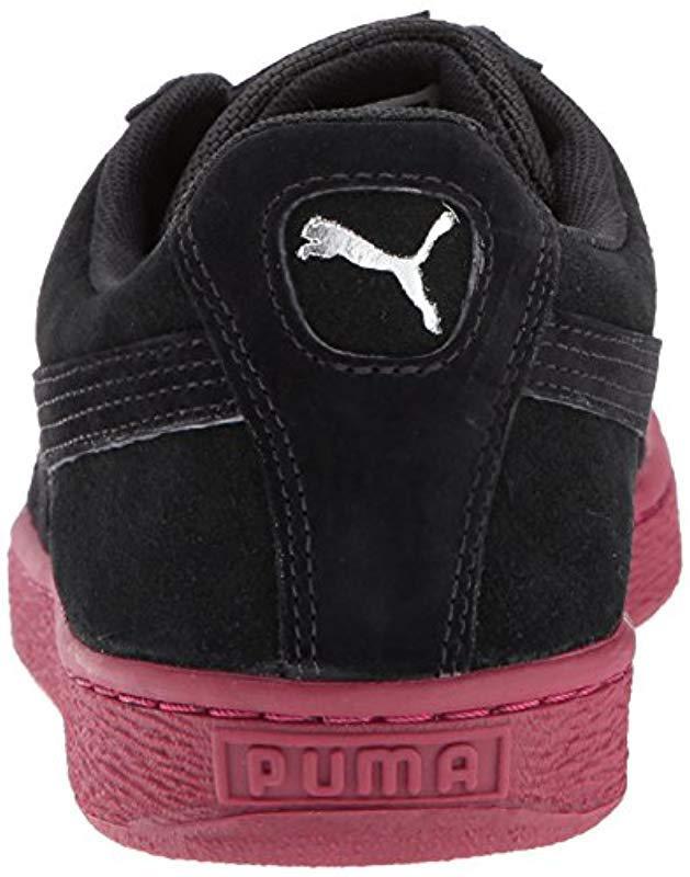 Lyst - PUMA Suede Classic Weatherproof Sneaker in Black for Men ead8b3dd6