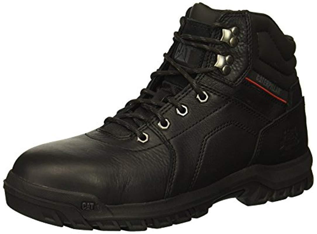 6cd70e5bbac0 Lyst - Caterpillar Diffuse Steel Toe Industrial Boot