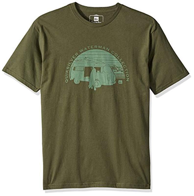 0ee07b3aca Lyst - Quiksilver Hcra T-shirt in Green for Men