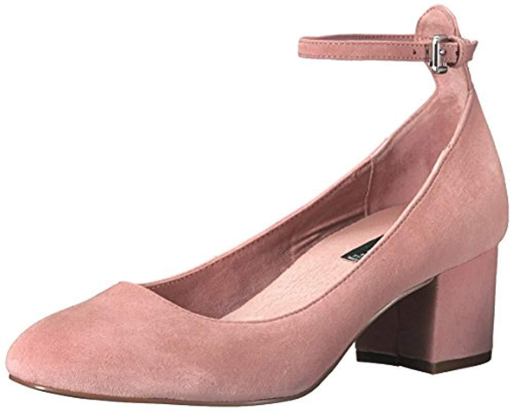 Lyst - Steven By Steve Madden Vassie Dress Pump in Pink ...
