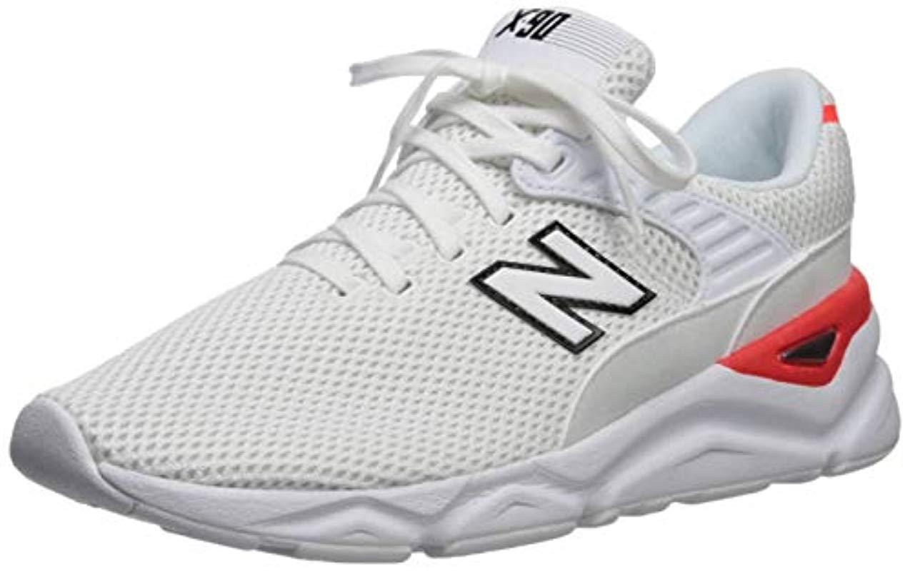 745a841df3834 New Balance White X90 Trainers for men