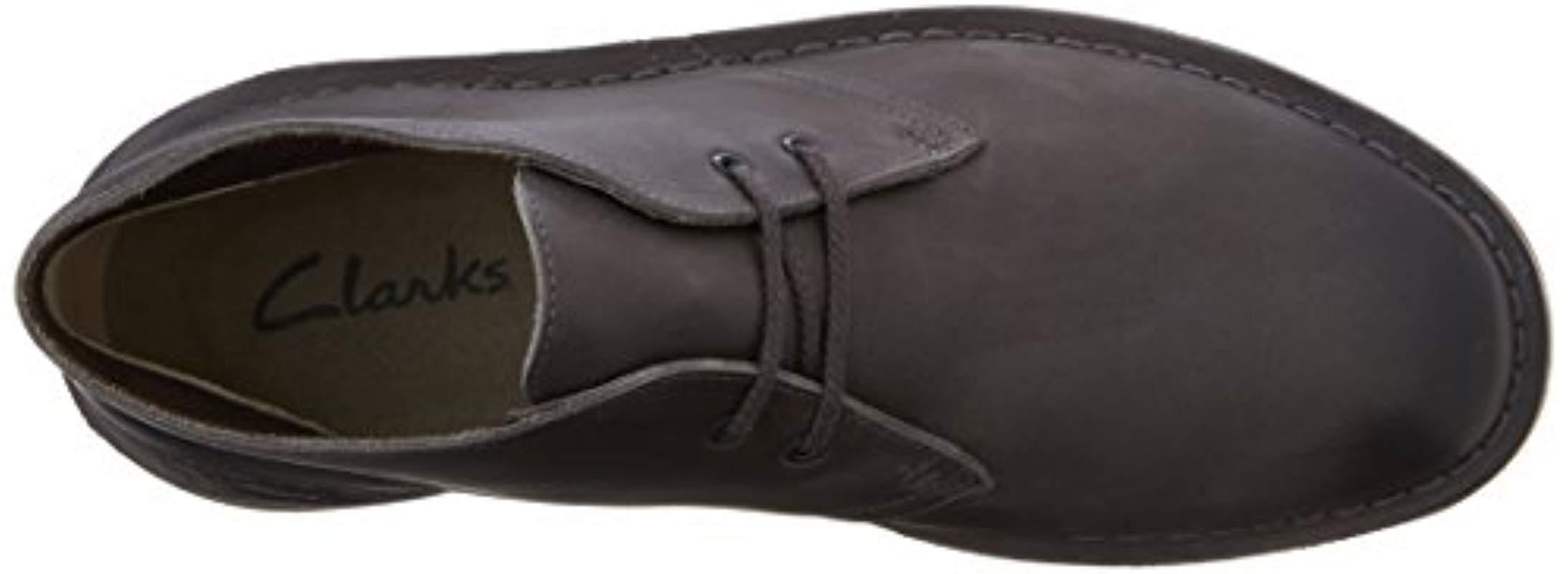 de68b295bc4 Clarks Gray Bushacre 2 Chukka Boot, Grey Leather, 7.5 Uk for men