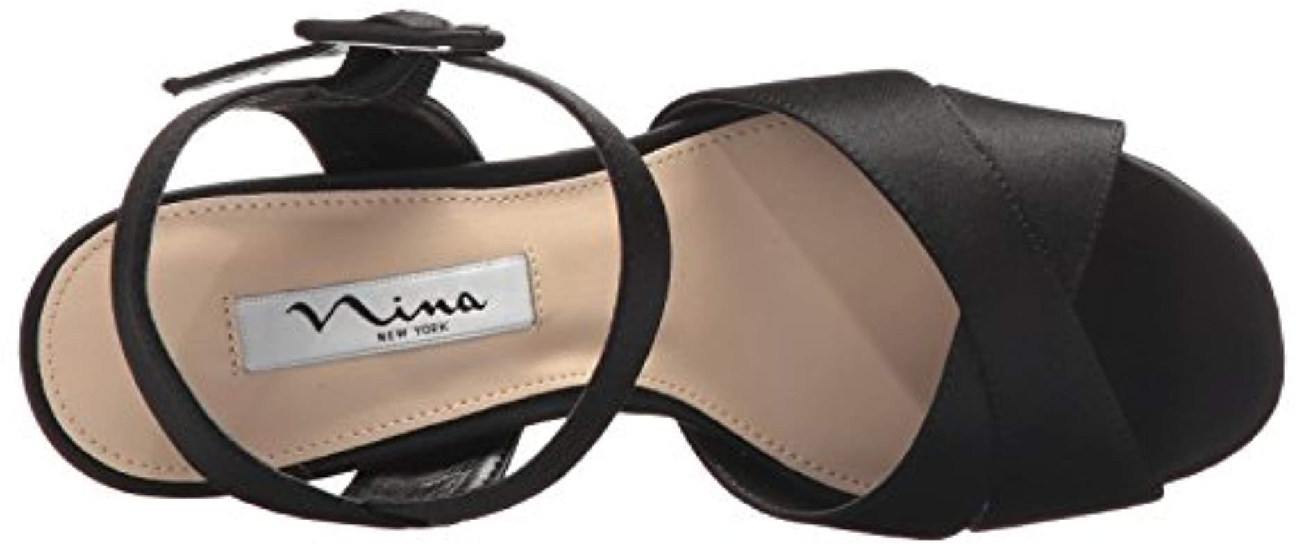 f99f981a746d Nina - Black Savita Platform Dress Sandal - Lyst. View fullscreen