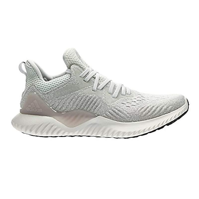 purchase cheap 161c1 4c9d0 adidas. Womens White Alphabounce Beyond Competition Running Shoes