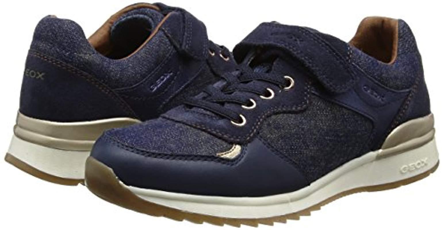 J Maisie E, Zapatillas para Niñas, Azul (Jeansc4001), 26 EU Geox de hombre de color Azul