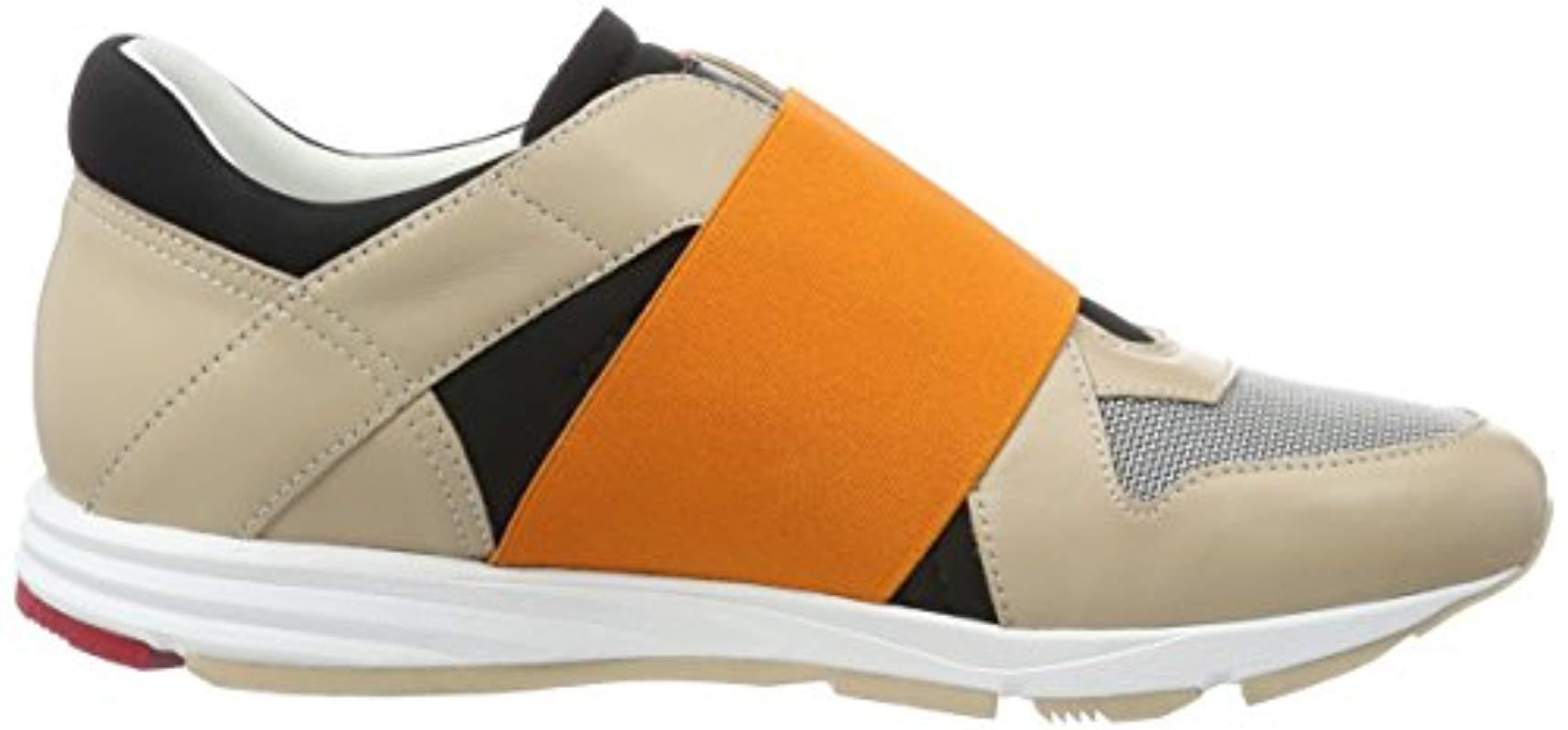 Hugo Women/'s Asya-e 10195764 01 Low-Top Sneakers