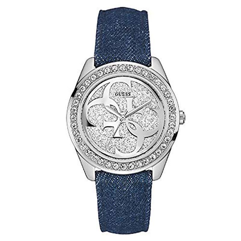 0b3ea33933e0 Reloj analogico para Mujer de Cuarzo con Correa en Tela W0627L1 ...
