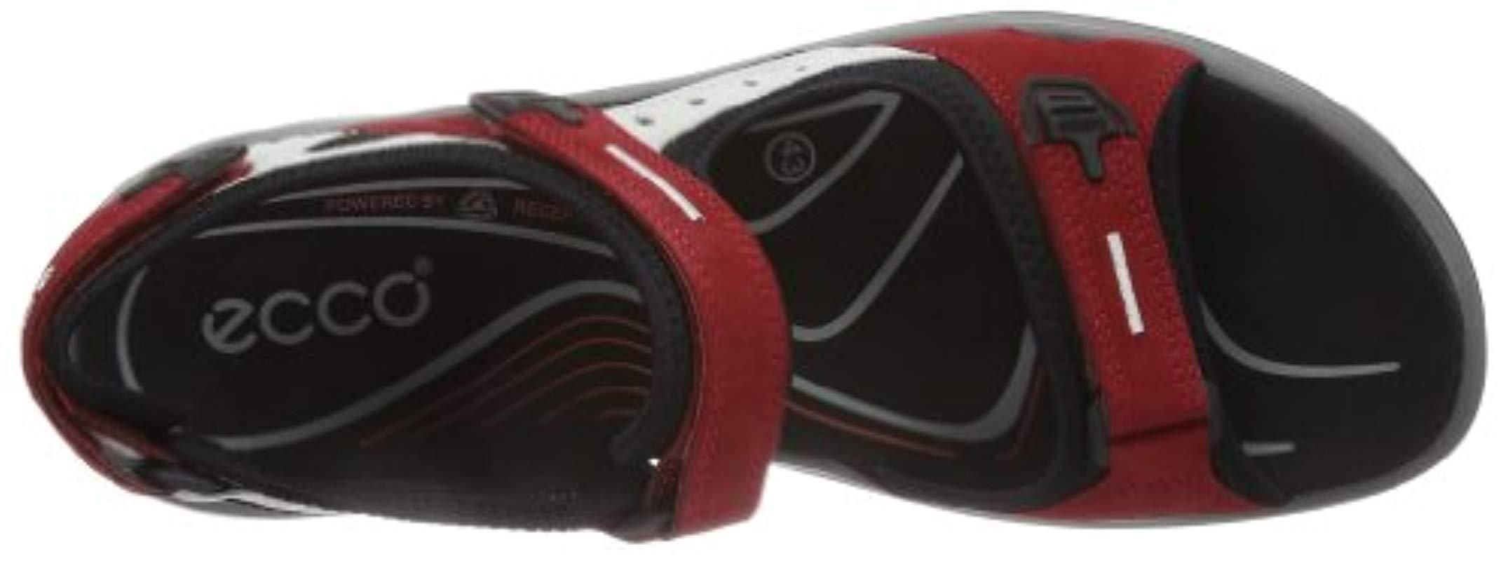 huge discount f1c39 b6018 Ecco Schuhe Damen Sandalen Trekkingsandalen Offroad Rot Chili Red  06956355287