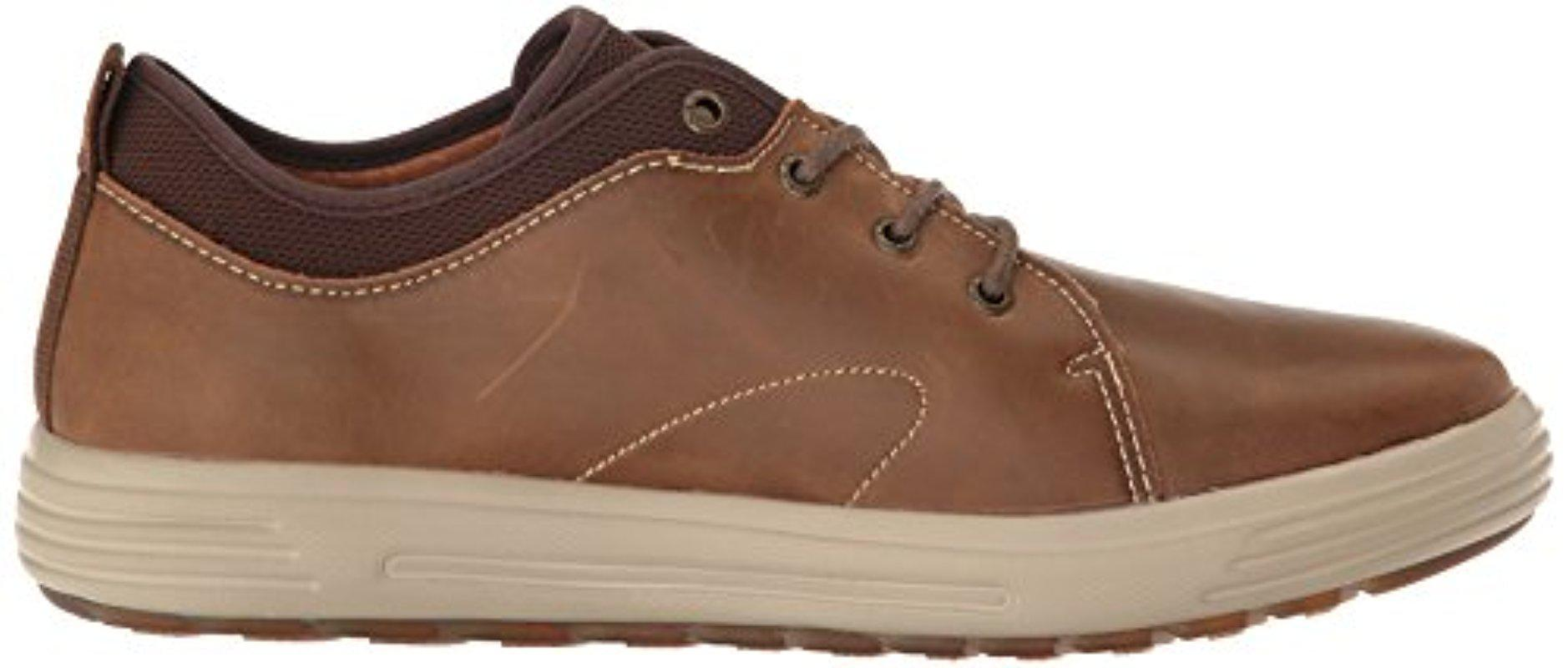 Skechers Leather Porter Elden Oxford in