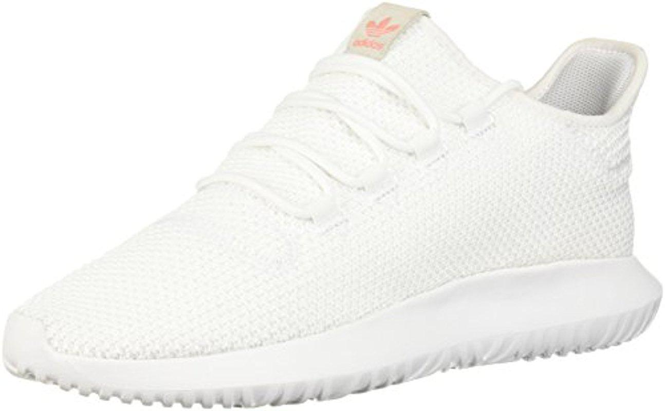 nice shoes f356c 541b4 Adidas White Tubular Shadow W Sneaker