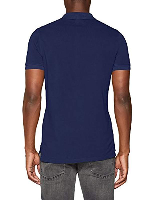c4323321 Pepe Jeans Rotten Polo Shirt in Blue for Men - Lyst