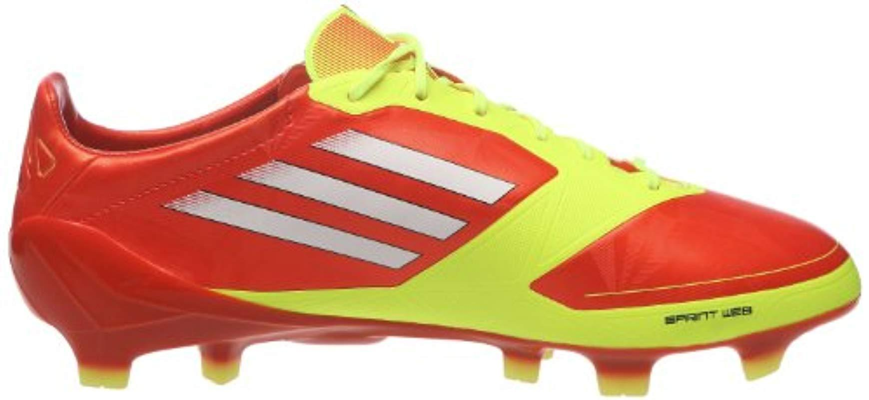 the latest shoes for cheap good texture adidas Synthetic S F50 Adizero Trx Fg Syn Micoach Football Boots ...