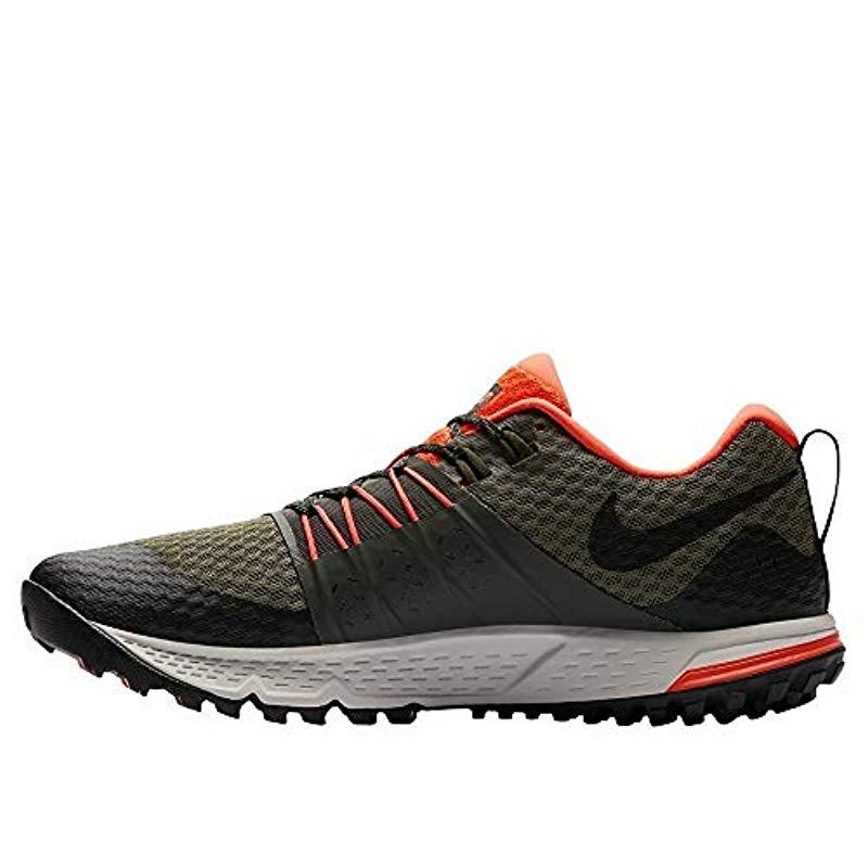 Nike Synthetic Air Zoom Wildhorse 4 Training Shoes for Men