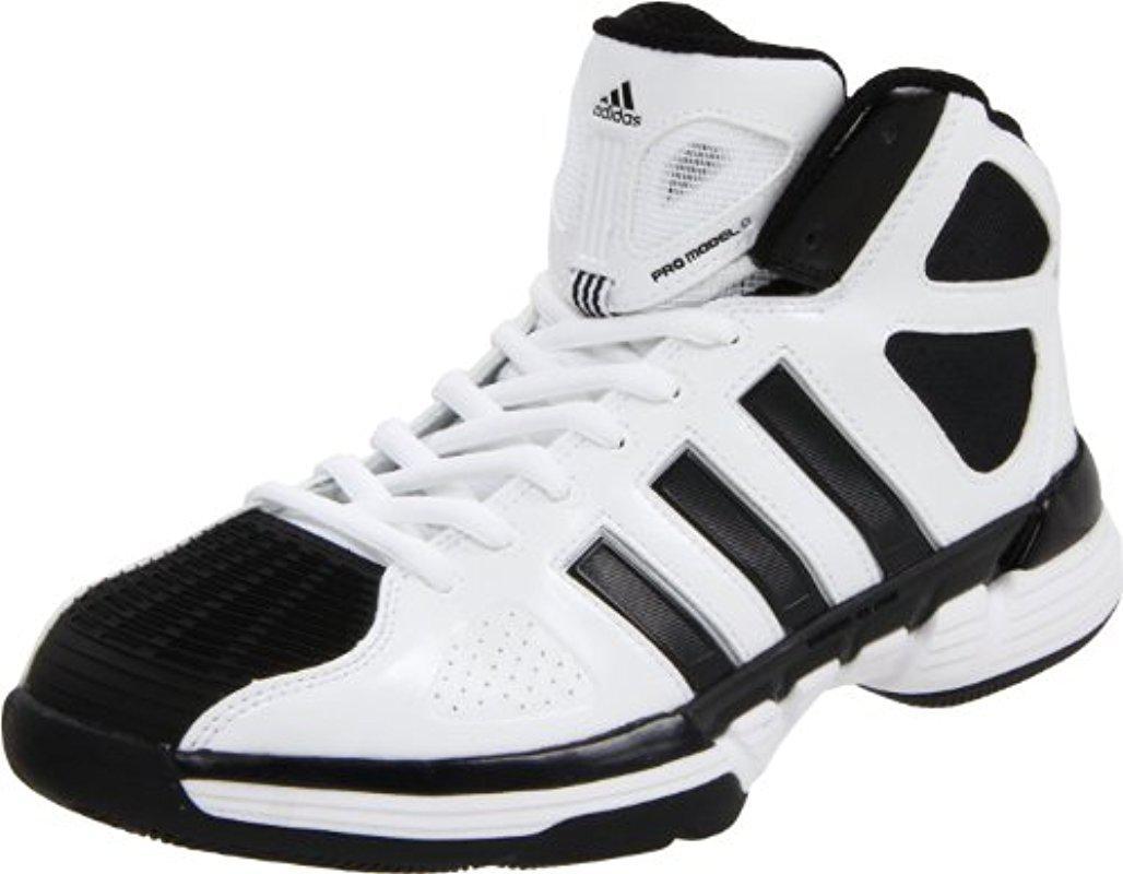 f3f0e0eb64ca Lyst - adidas Pro Model Zero Basketball Shoe in Black for Men