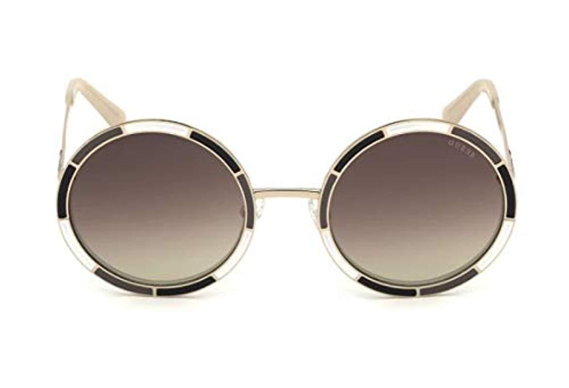 d53876a2362 Guess Unisex Adults  Gu7584 05g 56 Sunglasses