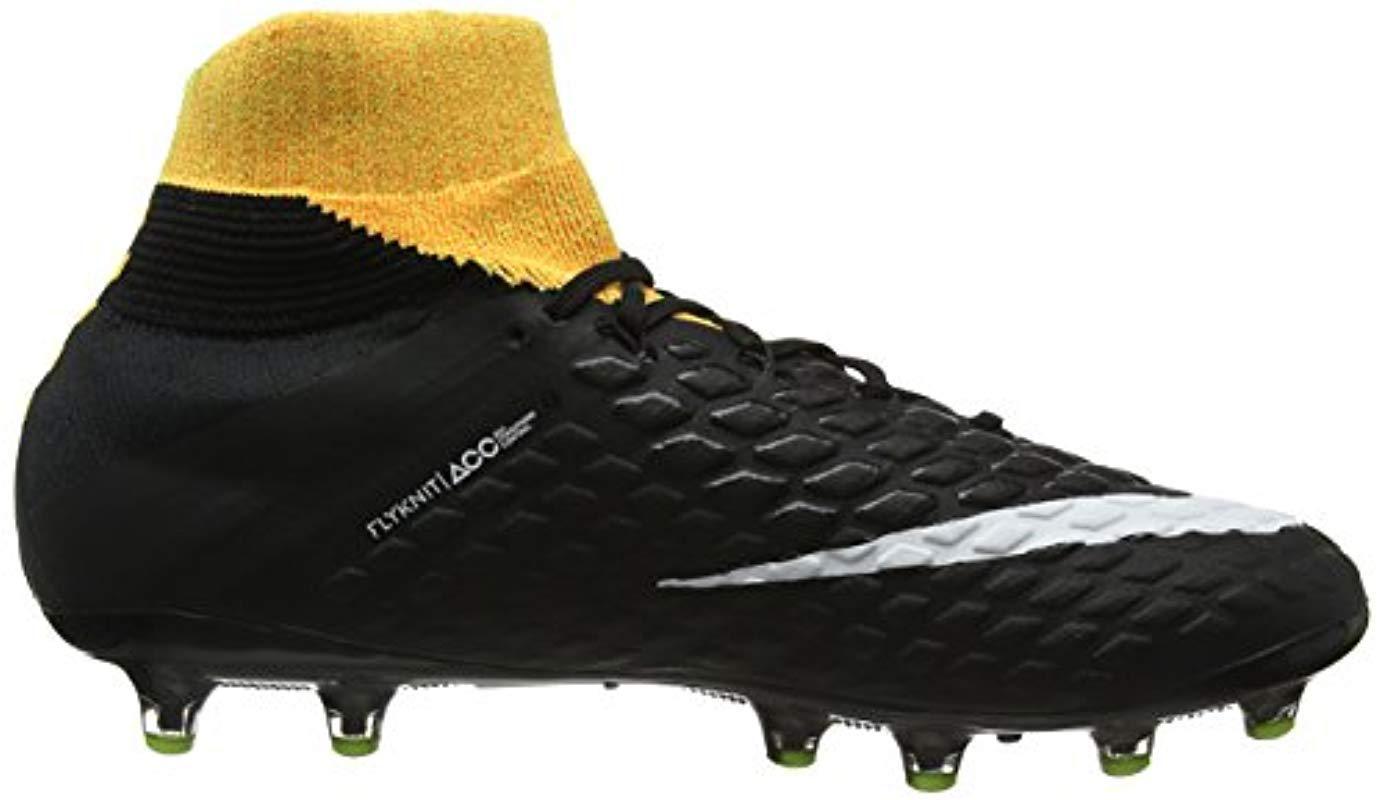 new product 2caa4 4caa0 Men's Orange Hypervenom Phantom 3 Df Ag-pro Football Boots