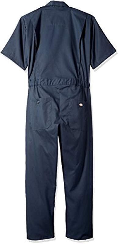 Dickies Flex Short Sleeve Coverall Arbeitsanzug in Blau für Herren