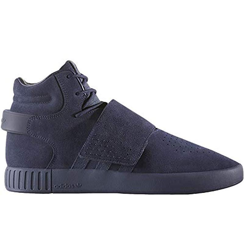 best sneakers 46d49 65c8f adidas Adults' Tubular Invader Strap Fitness Shoes Beige in ...