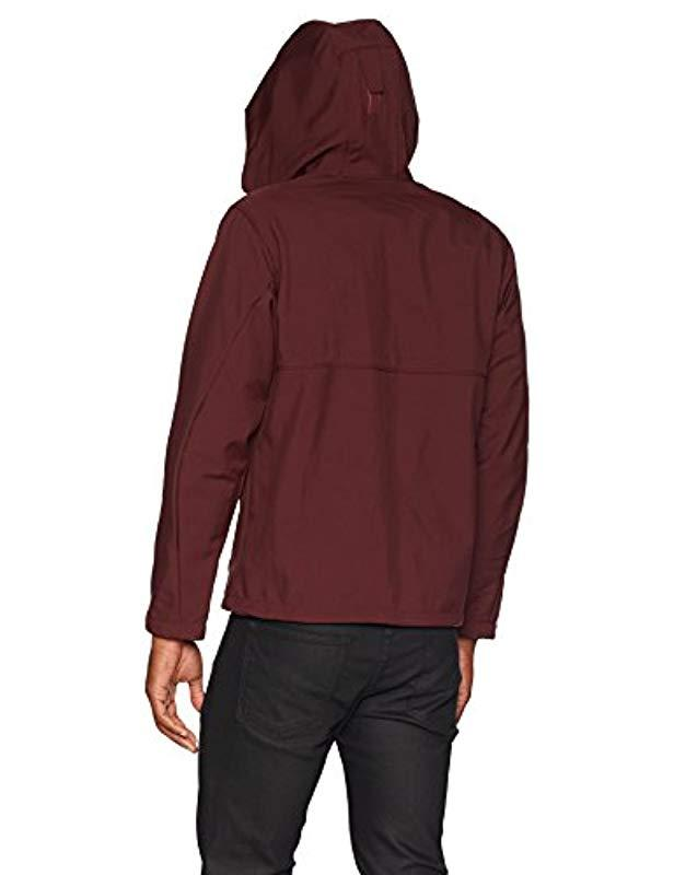 Columbia Ascender Hooded Softshell Jacket in Red for Men