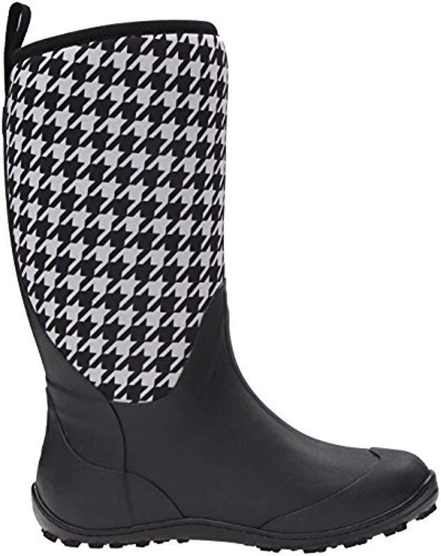 Columbia Rubber Snowpow Tall Print Omni-heat-w Winter Boots in Black