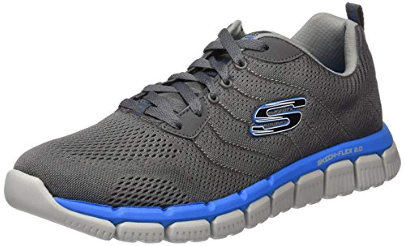 Skech-Flex 2.0, Zapatillas de Deporte Exterior para Hombre Skechers de hombre de color Azul