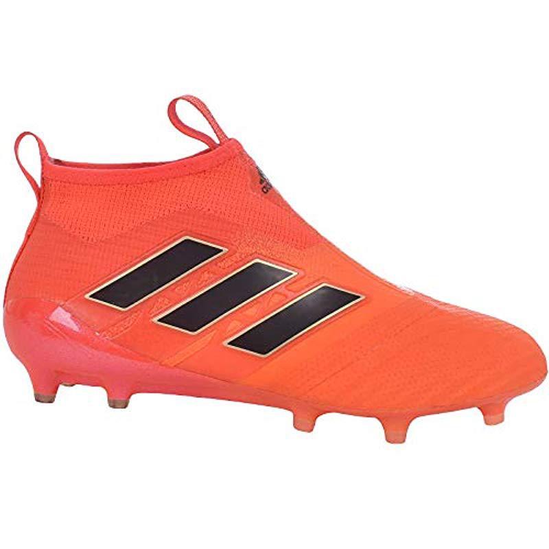 save off b354e c954b adidas. Mens Orange Ace 17+ Purecontrol ...