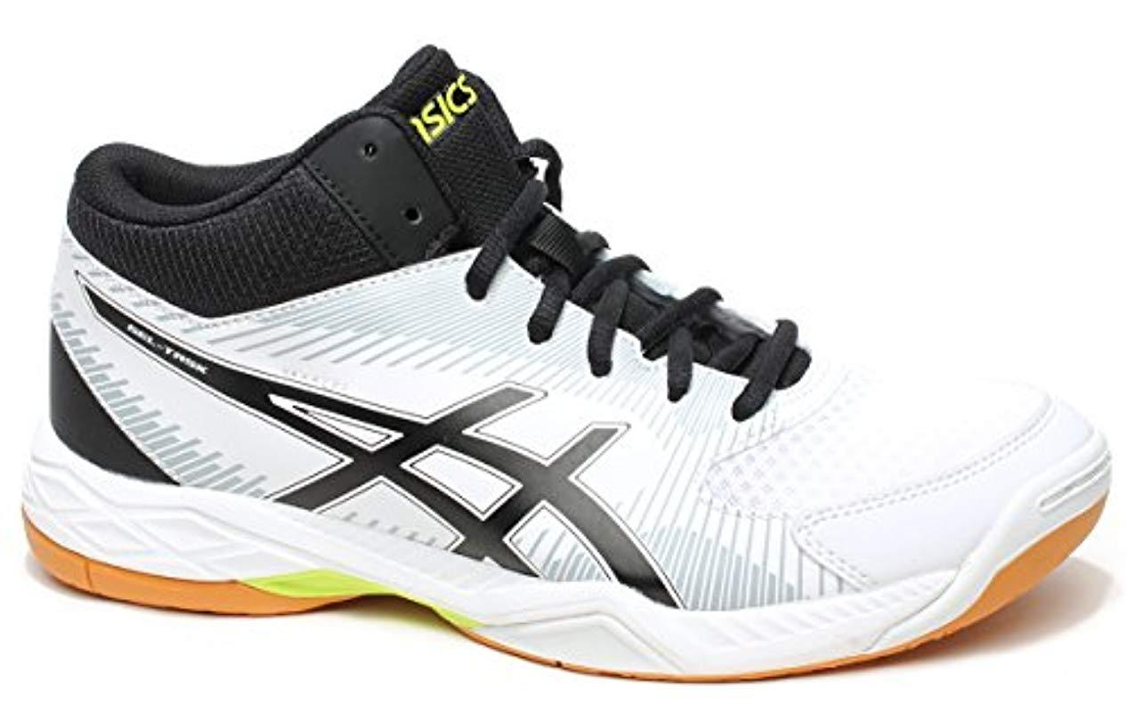 cce1efac1b982 Men's White Gel-task Mt Volleyball Shoes