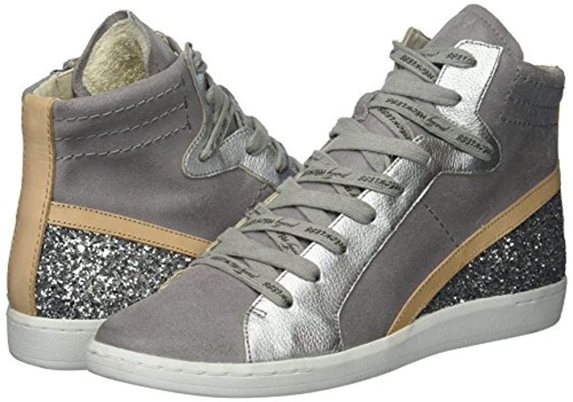 Dolce Vita Natty Sneaker in Grey Suede