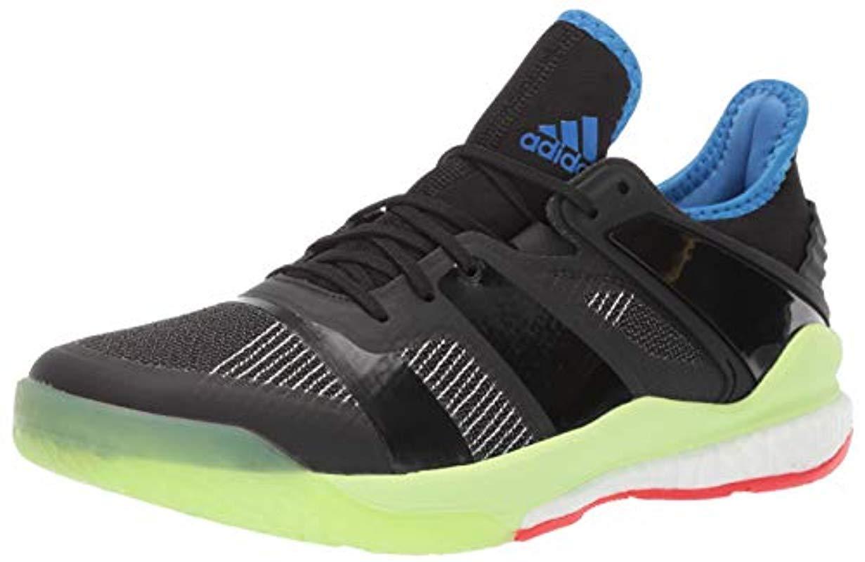 adidas Stabil X in Black/Green (Black
