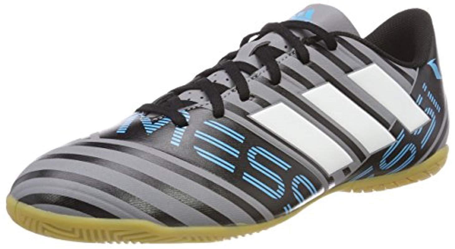 76e419075c6f2 adidas Lace Nemeziz Messi Tango 17.4 In Futsal Shoes in Gray for Men ...