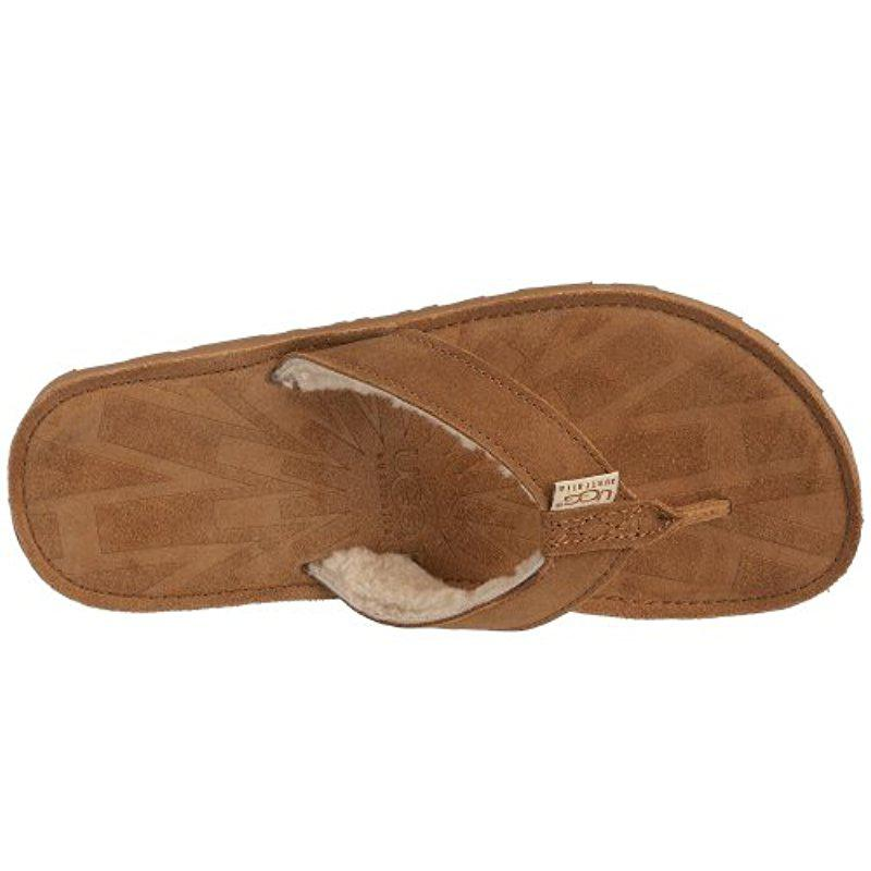 ae7709f69fd Lyst - UGG Tasmina Chestnut Sandal in Brown
