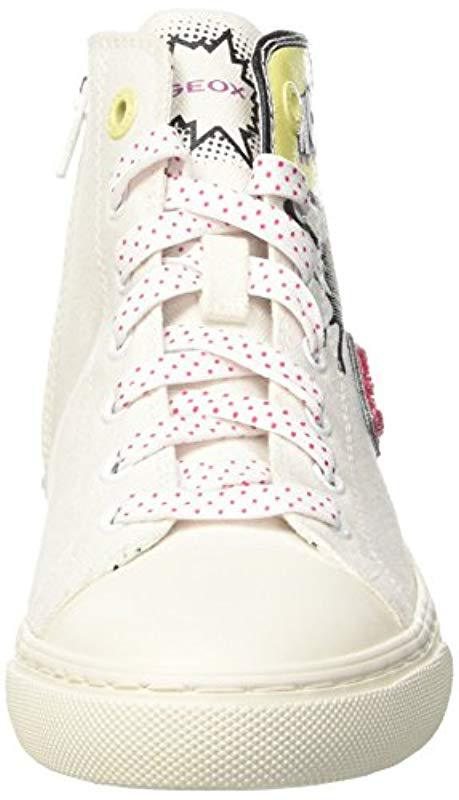 Geox D New Club B, 's Trainers in White