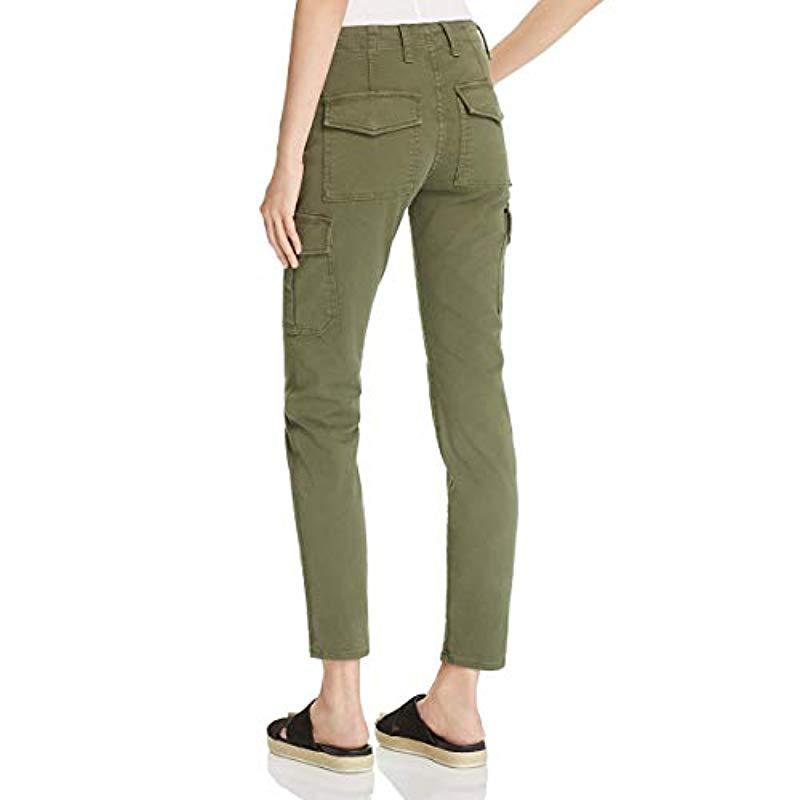 62284a082f8801 Vince - Green S Denim Skinny Fit Cargo Jeans - Lyst. View fullscreen