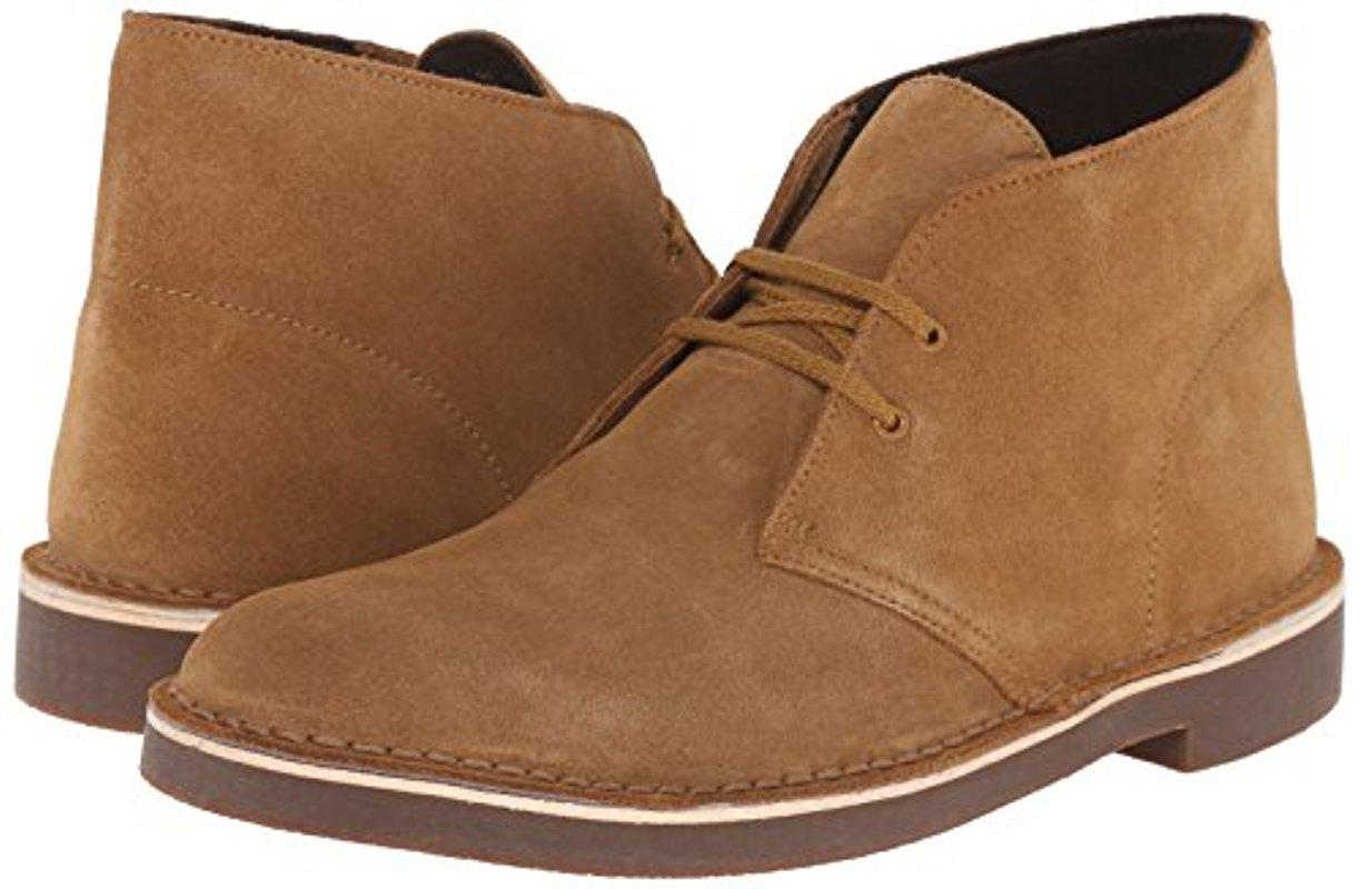Clarks Leather Bushacre 2 (wheat Suede