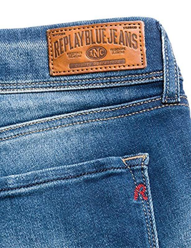 REPLAY Ilariya Jeans Straight Donna