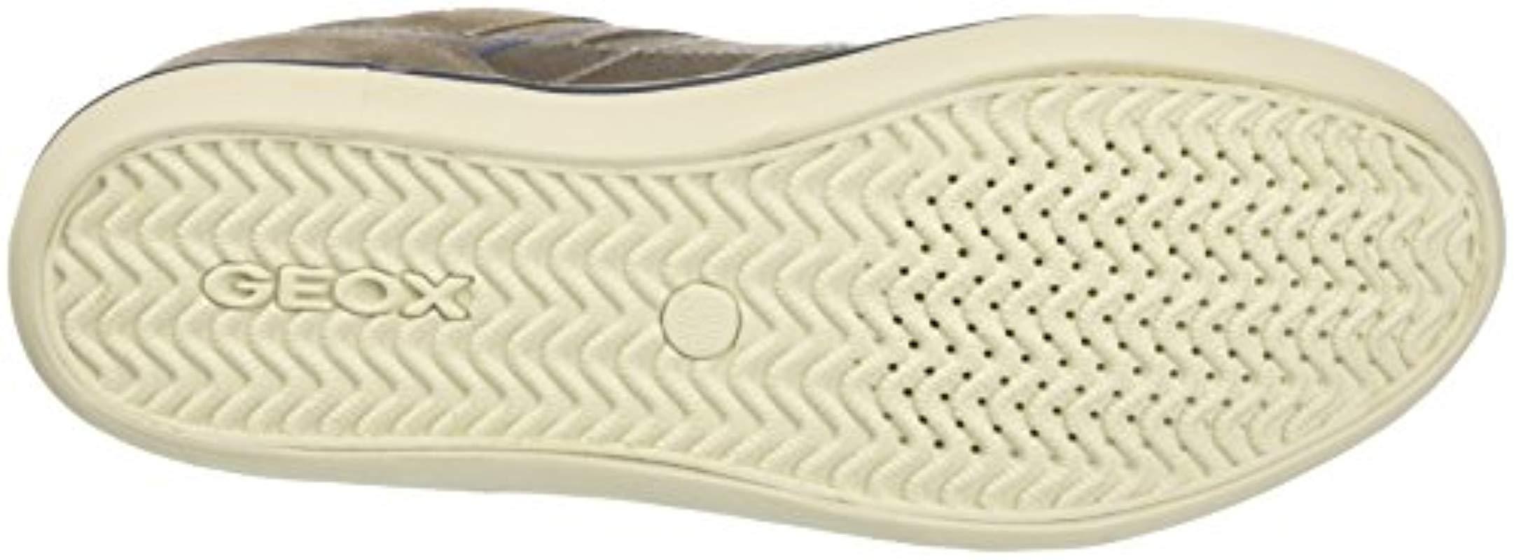 U Box F, Zapatillas para Hombre Geox de Cuero de color Neutro para hombre
