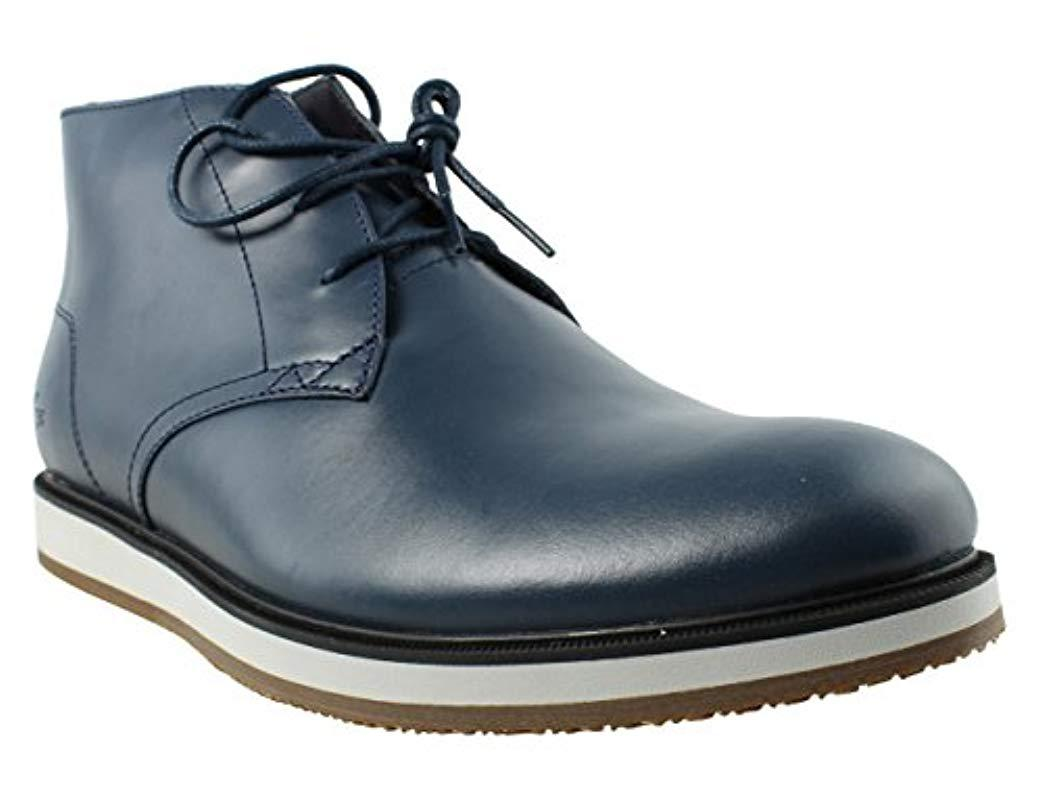 db2f670bb2b5 Lyst - Lacoste Millard 316 1 Cam Chukka Boot in Blue for Men