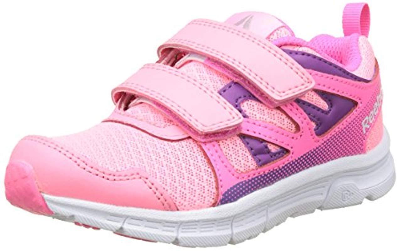 cc8c6632faf7f6 Lyst - Reebok Jungen Run Supreme 2.0 2v Joggingschuhe in Pink