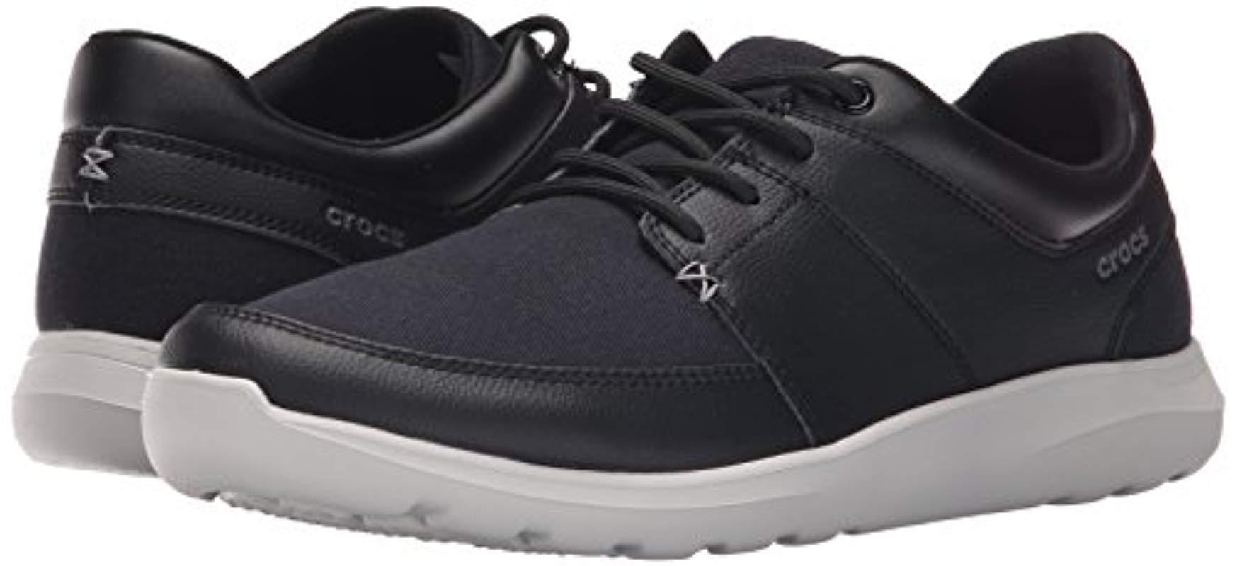 Crocs™ 203052 Boating Shoes in Black