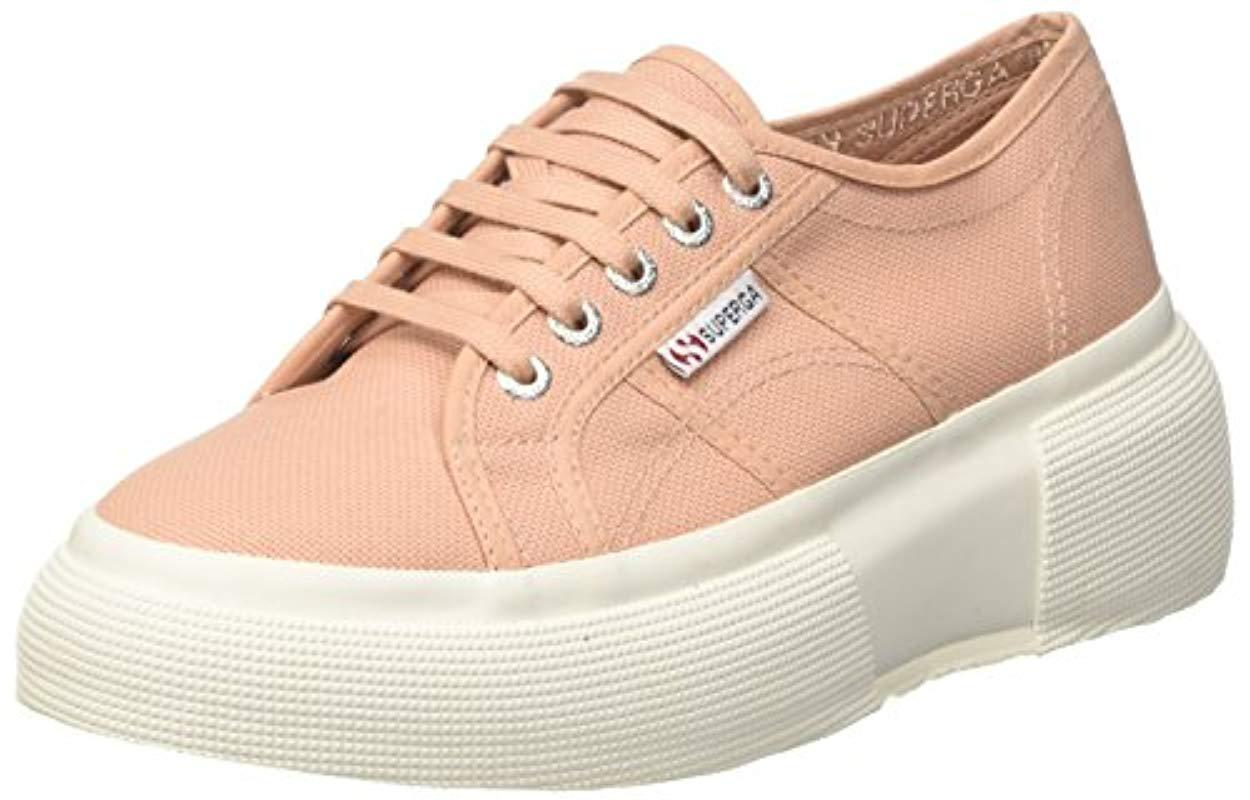 Pink Lyst 2287 Superga In Trainers Cotw qwBn80T