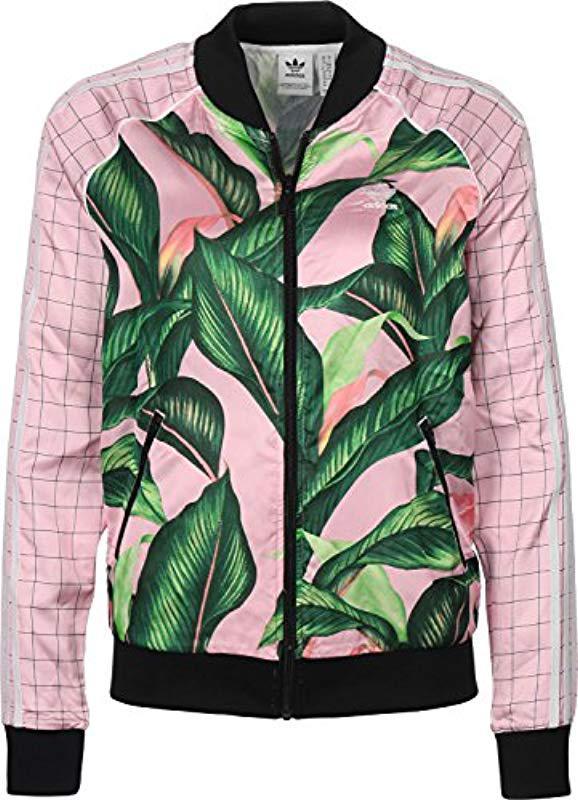 322ebf398 Adidas Lyst Green Jacket Sst In BrWB7F8n