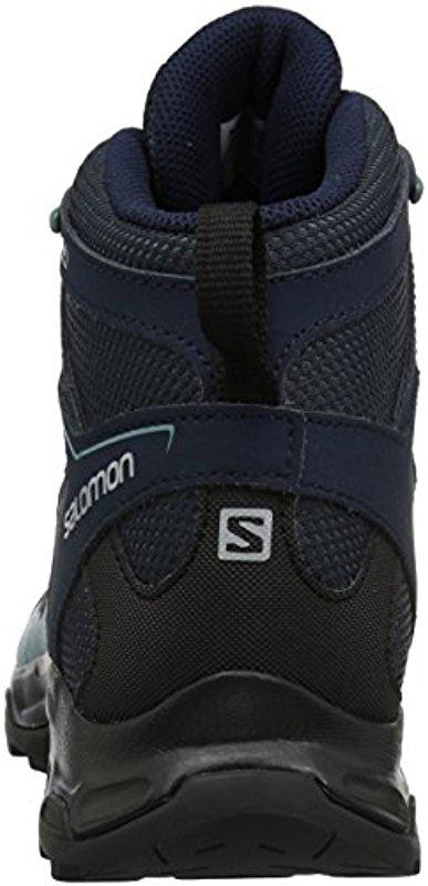 96ae2189f469 Lyst - Yves Salomon Pathfinder Cswp Mid W Walking Shoe in Blue ...