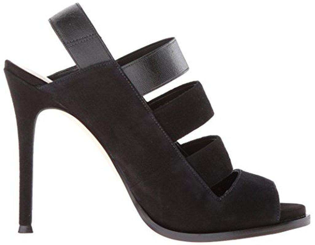 Nine West Womens Hallan Suede dress Sandal
