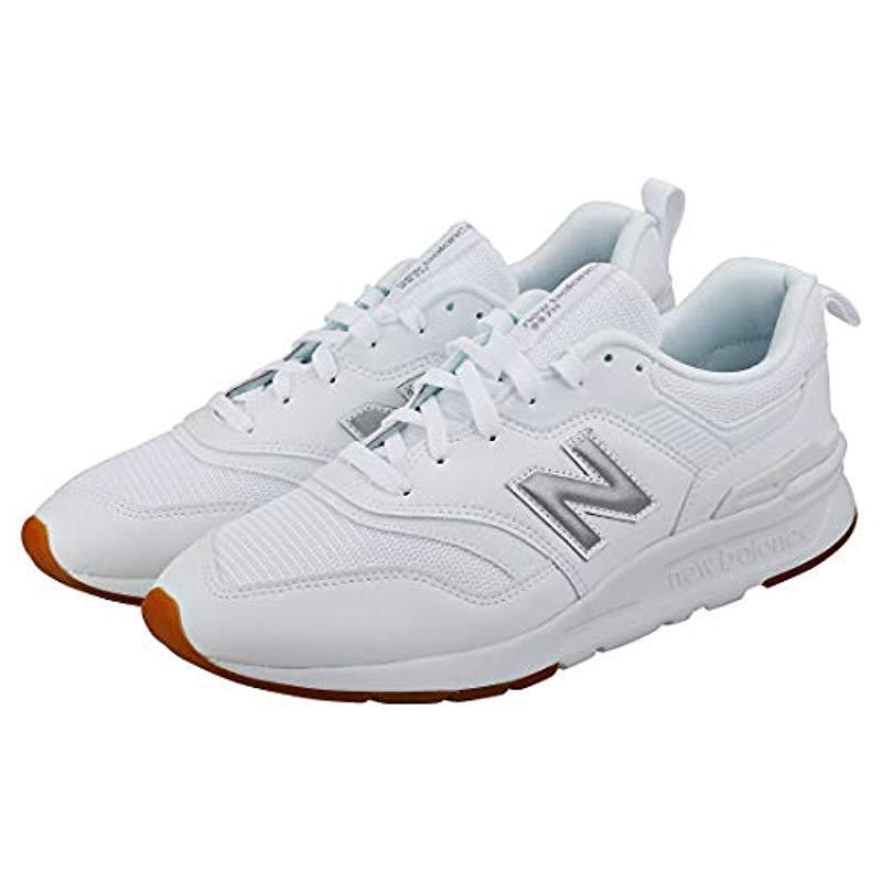 new balance 997h white silver