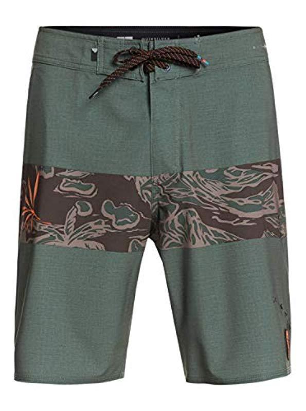 MIGAGA Blue Pink Camouflage Mens Summer Casual Swimming Shorts Beach Board Shorts